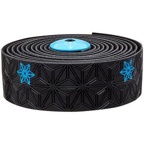Supacaz Super Sticky Kush Galaxy Handlebar Tape, neon blue print